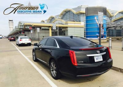 American Executive Transportation Cadillac XTS @ DCA Airport