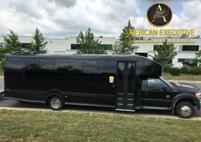 AET MiniBus 28 passenger serving Northern Virginia