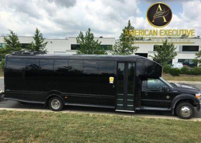 AET MiniBus 28 passenger serving Northern Virginia