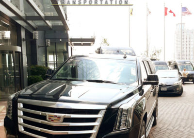 Cadillac Escalade Willard Hotel in Washington DC