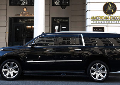 Cadillac Escalade  Willard Hotel Washington DC