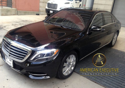Mercedes S-Class Services by AET Front