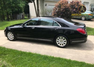 Luxury Sedan Mercedes SClass Serviing Washington DC Metro Area