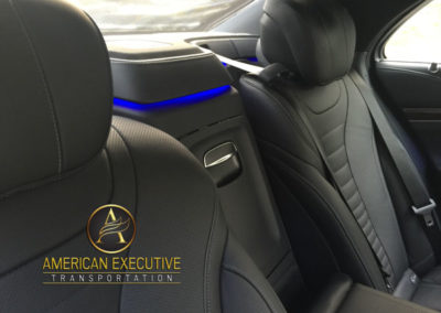 Mercedes S-Class Services by AET Inside