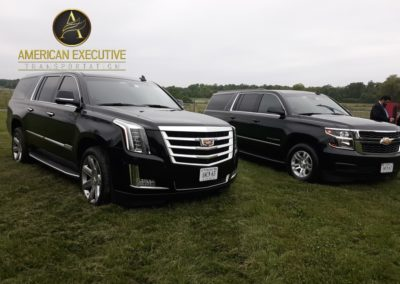 American Executive Transportation Escalade and Suburban