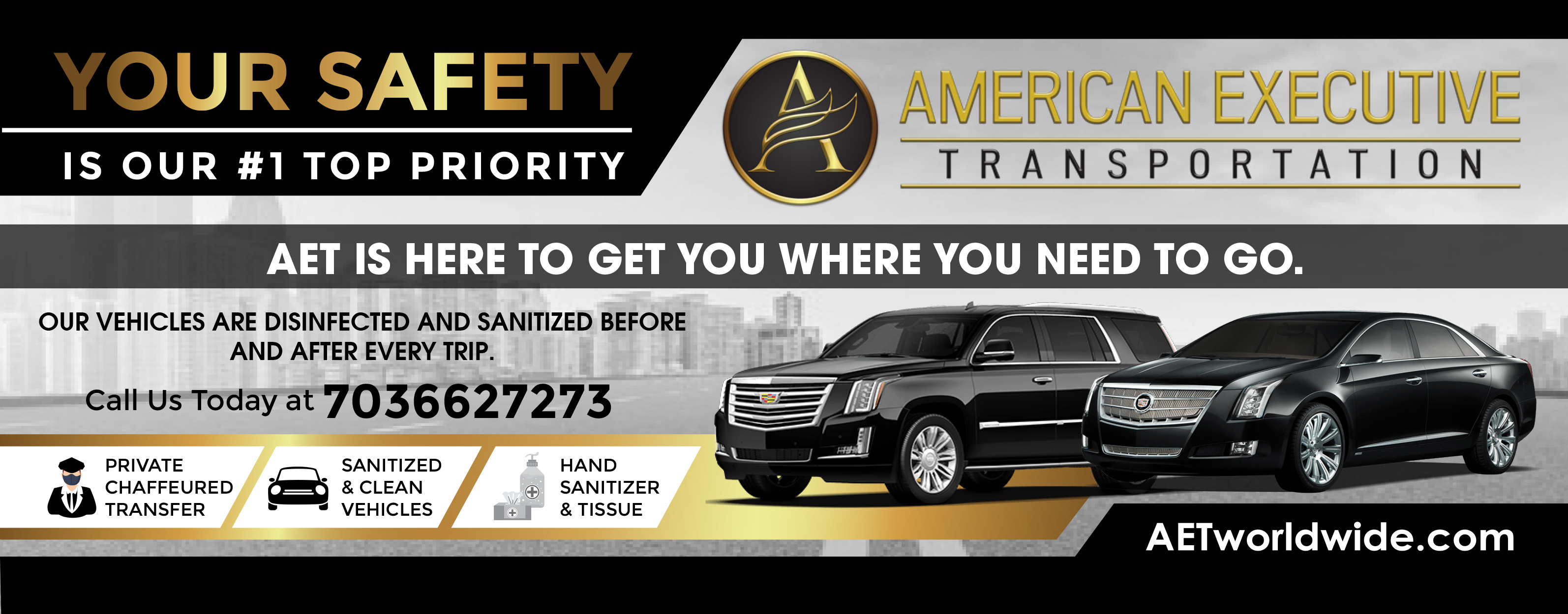 AET Worldwide Number 1 Priority Safety