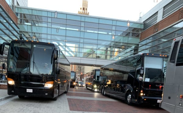 AET Motor Coaches serving Washington DC, Virginia and Maryland